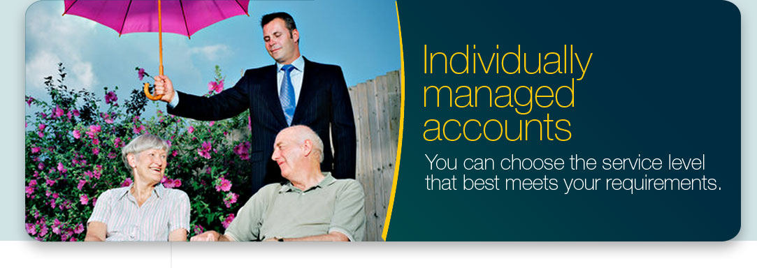 Individually managed accounts