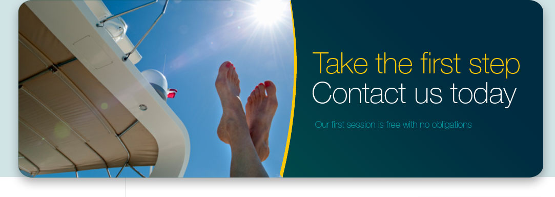 Take the first step - contact us today
